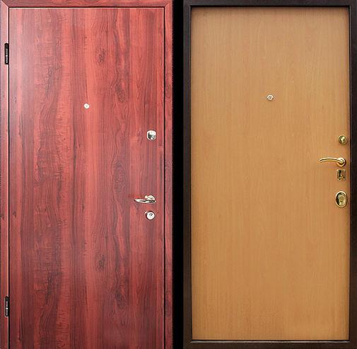 стальные двери двусторонние