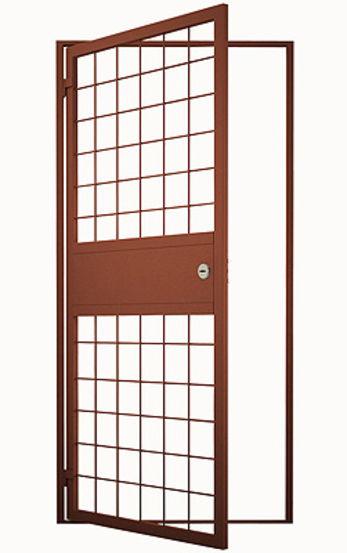 двери металлическая решетчатая бронедверь