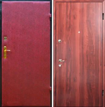 дверь входная надежная ламинат винилискожа