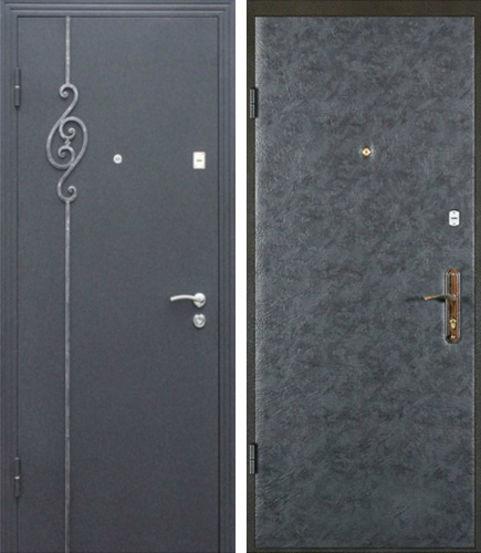 тяжелые стальные двери