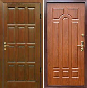 стальные двери от производителя без отделки внутри